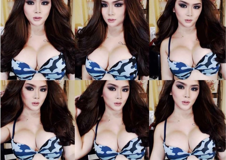 There's the next Miss Ladyboy. It's Queenbella