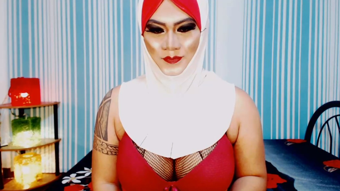 Today we're going a little naughtier with a ladyboy